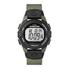 Timex® Expedition Mens Digital Chronograph Watch