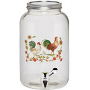 Pfaltzgraff® Rooster Meadow Glass Beverage Dispenser