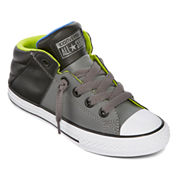 Converse Chuck Taylor All Star Axel Boys Leather Sneakers - Little Kids