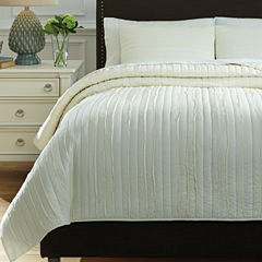 Signature Design by Ashley® Solsta 3-pc. Coverlet Set
