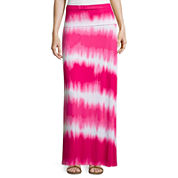 a.n.a® Foldover Wide Waistband Knit Maxi Skirt - Petites