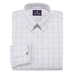 Stafford® Executive Non-Iron Cotton Pinpoint Dress Shirt