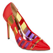 Two Lips Too Looker Pointed-Toe Pumps