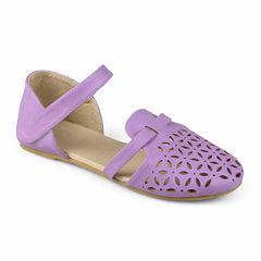 Journee Kids Girls Slip-On Shoes - Little Kids