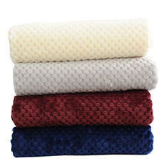 Orient Home Collection Flannel Jacquard Throw