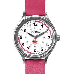 Dakota Women's Fun Color Nurse Watch, Pink