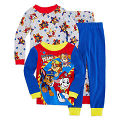 4-pc. Pajama Paw Patrol Toddler