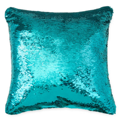 Wonderful JCPenney Home™ Mermaid Square Sequins Decorative Pillow