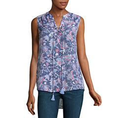 St. John's Bay Sleeveless Blouse