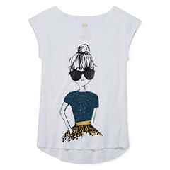 Total Girl Graphic T-Shirt-Big Kid Girls