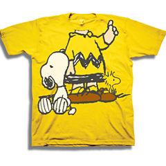 Short Sleeve Peanuts T-Shirt-Toddler Boys