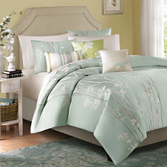 Madison Park Athena 6-pc. Jacquard Duvet Cover Set