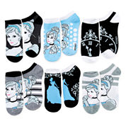 Disney 6-pk. Cinderella No-Show Socks