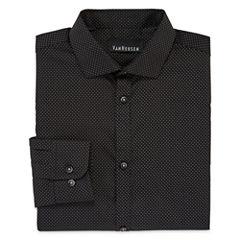 Van Heusen® Long-Sleeve Polka Dot Dress Shirt - Boys 8-20