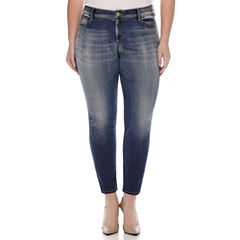 Arizona Curvy Skinny Jean-Juniors Plus