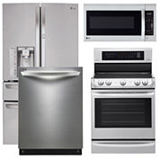 LG 4-pc. Kitchen Package- Stainless Steel