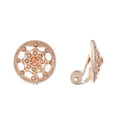 Monet Jewelry Pink Clip On Earrings