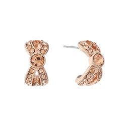 Monet Jewelry Pink Hoop Earrings