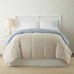 Pacific Coast Textiles Down Alternative Reversible Midweight Comforter