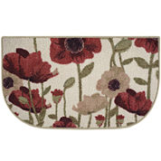 Floral Couture Kitchen Wedge Rug