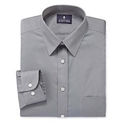 Stafford® Comfort Stretch Long Sleeve Dress Shirt