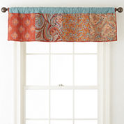 JCPenney Home™ Morocco Rod-Pocket/Back-Tab Valance