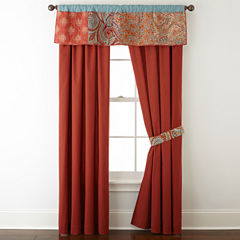 Jcpenney Home Morocco Rod Pocket Back Tab Lined Curtain Panels