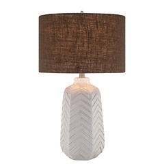 Catalina Chevron Table Lamp