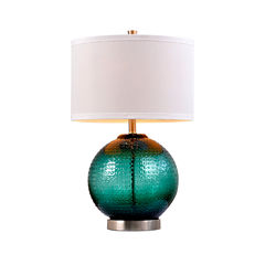 Catalina Jade Glass Table Lamp