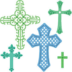 Spellbinders™ Shapeabilities® Die, Crosses