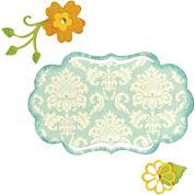 Sizzix® Thinlits Die, 6-pk. Fancy Label & Flowers