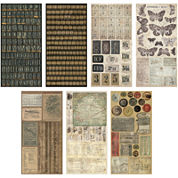 Tim Holtz® Idea-Ology Cardstock Salvage Stickers, Crowded Attic
