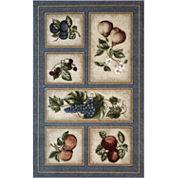Fresh Fruit Washable Rug Collection