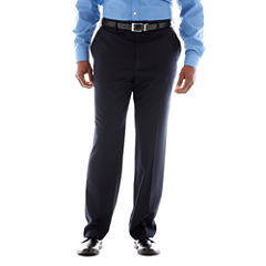 Stafford® Year-Round Flat-Front Pants–Big & Tall