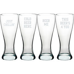 Cathy's Concepts Cold Beer Here Pilsner Set