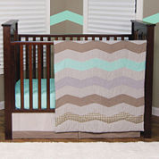 Trend Lab® Cocoa Mint Bedding Collection
