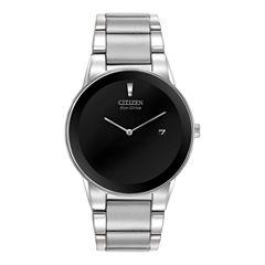 Citizen® Eco-Drive® Axiom Mens Silver-Tone Watch AU1060-51E