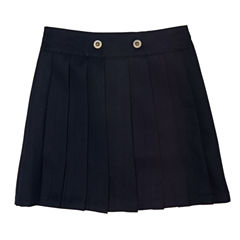 French Toast Front Button Pleated Scooter Scooter Skirt Girls