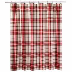 Avanti Hunter Plaid Shower Curtain