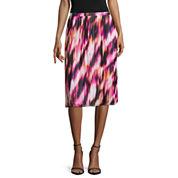 Worthington® Pleated Midi Skirt - Tall