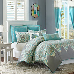 Madison Park Tara Paisley Duvet Cover Set