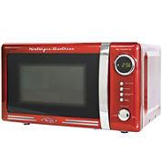 Nostalgia RMO770RED Retro Series 0.7 Cubic Foot 700-Watt Microwave Oven