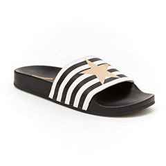 Union Bay Star Womens Slide Sandals
