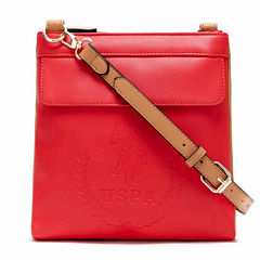 Us Polo Assn. Billy Double Entry Crossbody Bag