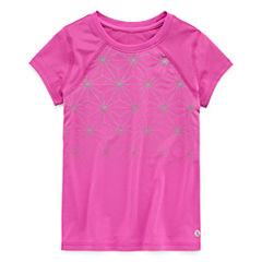 Xersion Short Sleeve T-Shirt-Toddler Girls