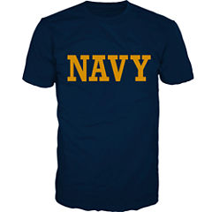 Military US Navy Short-Sleeve Graphic T-Shirt