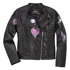 Girls Descendants Lightweight Motorcycle Jacket-Big Kid