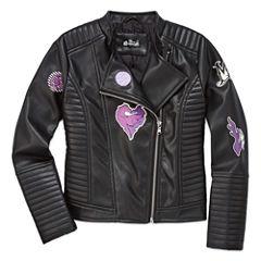 Girls Descendants Lightweight Motorcycle Jacket-Big Kid