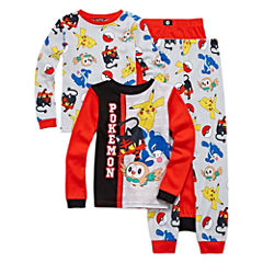 4-pc. Pajama Pokemon Big Kid