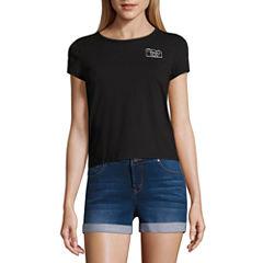 Camera Graphic T-Shirt- Juniors